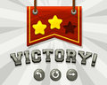 Game Victory Screen Stock Images - 42931674