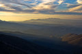 Mountain Landscape In Early Spring At Sunset, Mount Stolovi Royalty Free Stock Photo - 42940315