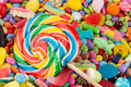 Lollipop On Sweets Royalty Free Stock Photos - 42961608