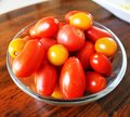 Cherry Tomatoes In A Bowl Stock Photo - 42967050