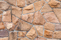 Old Red Stone Wall Background Texture Royalty Free Stock Photography - 42976337