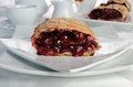 Cherry Strudel Royalty Free Stock Photos - 42979708
