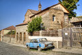 Old Car In Sighnaghi Stock Image - 42980101