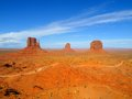 Three Buttes Of Monument Valley Stock Photos - 42981643