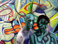 NEW YORK - JULY 26: Nude Models, Artists Take To New York City Streets And Art Galleries During First Official Body Painting Event Stock Photography - 42990182