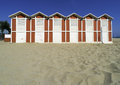Wooden Cabins On The Beach Royalty Free Stock Image - 42996466