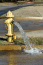 Hydrant Water Fountain Stock Images - 4301884