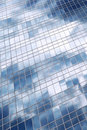Clouds Reflection In Office Building Stock Image - 4302691