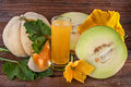 Cantaloupe Melon Stock Images - 43005664