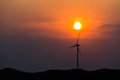 Wind Power Turbine Royalty Free Stock Images - 43015089