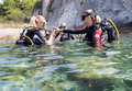 Scuba Training Stock Images - 43021634