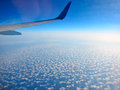 Airplane Above Clouds Stock Images - 43023204