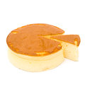 Side View Round Cheese Cake Stock Photography - 43032952