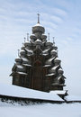 Wooden Famous Russian Museum Kizhi Royalty Free Stock Photo - 43039235