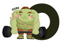 O For Ogre Stock Images - 43053254