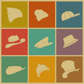 Colorful Hats Royalty Free Stock Image - 43078076