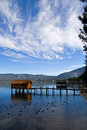 Little Cabins On The Lake Royalty Free Stock Photo - 4310475