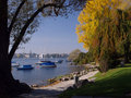 View Of Zurich Over The Lake Royalty Free Stock Image - 4314296