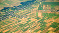 Austrian Cultivated Land Seen From A Plane Stock Photo - 43108760