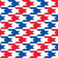 Patriotic Houndstooth 2 Royalty Free Stock Images - 43109889