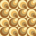 Circles In Circles Pattern Royalty Free Stock Photography - 43110557
