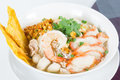 Combination Noodle Contains Many Thai Food Stock Photo - 43120170