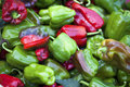 Green And Red Peppers Royalty Free Stock Photo - 43129845