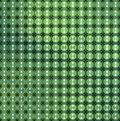 3d Glossy Abstract Tiled Bubble Background In Green Blue Stock Photography - 43132652
