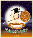 Halloween Illustration Royalty Free Stock Image - 43134576