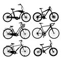 Bicycle Silhouettes Royalty Free Stock Photography - 43142567