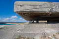 German Bunker From The Second World War And The Atlantic Ocean Stock Image - 43142921