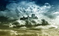Castle In The Sky Stock Photography - 43160012