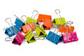 Heap Of Binder Clips Stock Image - 43167091