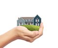 House In Hand Royalty Free Stock Images - 43167589