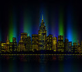 City Lights, Cityscape Colourful Stock Images - 43169864