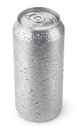 500 Ml Aluminum Can With Water Drops Royalty Free Stock Photography - 43195757
