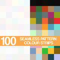 Set Seamless  Pattern, Colour Strips  On White Background Stock Photography - 43208242