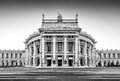 Historic Burgtheater (Imperial Court Theatre) In Vienna, Austria Stock Images - 43215524