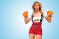 Festive Beers. Stock Images - 43220084