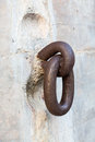 Old Rusty Ring At Fort De Soto Florida Royalty Free Stock Photos - 43221928