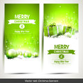 Christmas Banners Stock Photography - 43245662