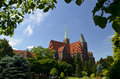 Cathedral Of St. John The Baptist. Wroclaw, Poland Royalty Free Stock Photo - 43246845