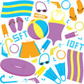 Pool Items Stock Images - 43247154