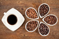 Fresh Coffee And Beans Royalty Free Stock Images - 43255319