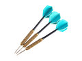 Set Of Three Darts On A White Background Royalty Free Stock Photography - 43268297