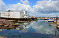 Harbor Of Digby Royalty Free Stock Photo - 43286595