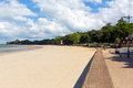 Ryde Seafront Isle Of Wight With Blue Sky And Sunshine In Summer In This Tourist Town On The North East Coast Royalty Free Stock Photos - 43293998