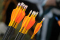 Orange Archery Arrows Stock Photos - 4332473