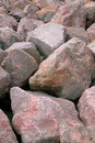Pink Boulders Stock Photo - 4335730