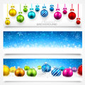 Collection Of Christmas Banners Royalty Free Stock Images - 43305889